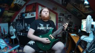 Akercocke - Disappear (Guitar Cover)