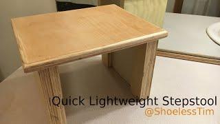 HFWW | Quick Lightweight Stepstool