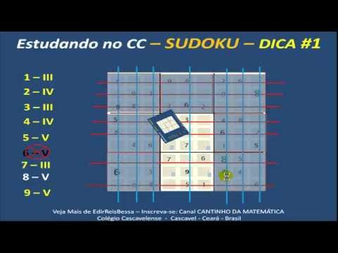 Sudoku - Dicas de Resolução - PASSO A PASSO - FÁCIL FÁCIL - CC   V516.mp4