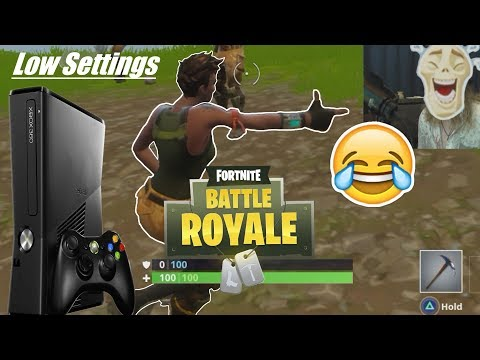 Fortnite On Xbox 360 * What It Would Look Like * Potato Graphics *Low PC Settings*