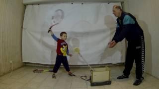 Теннис:) (ч.1). Методика обучения . Дети - начало