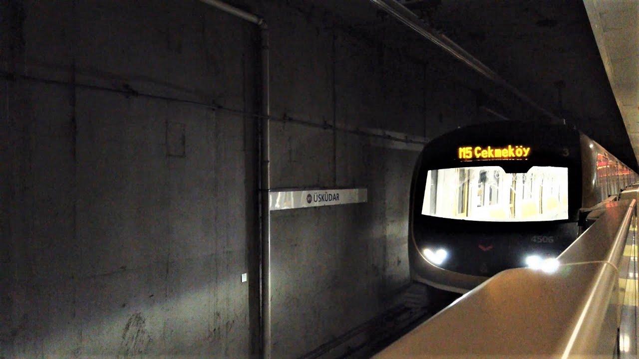 İstanbul, M5 ile Üsküdar - Çekmeköy - Üsküdar Arası Metro Yolculuğu