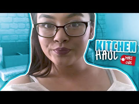 IM MOVING OUT?!?! Kitchen Haul Part 1: