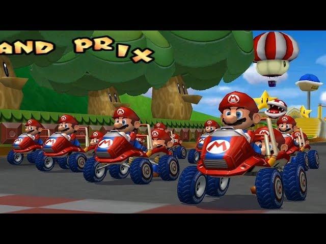Mario Kart Double Dash - But Everyone's Mario