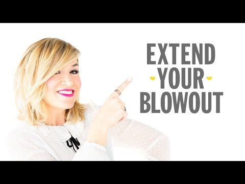 Drybar DIY: How to Extend Your Blowout
