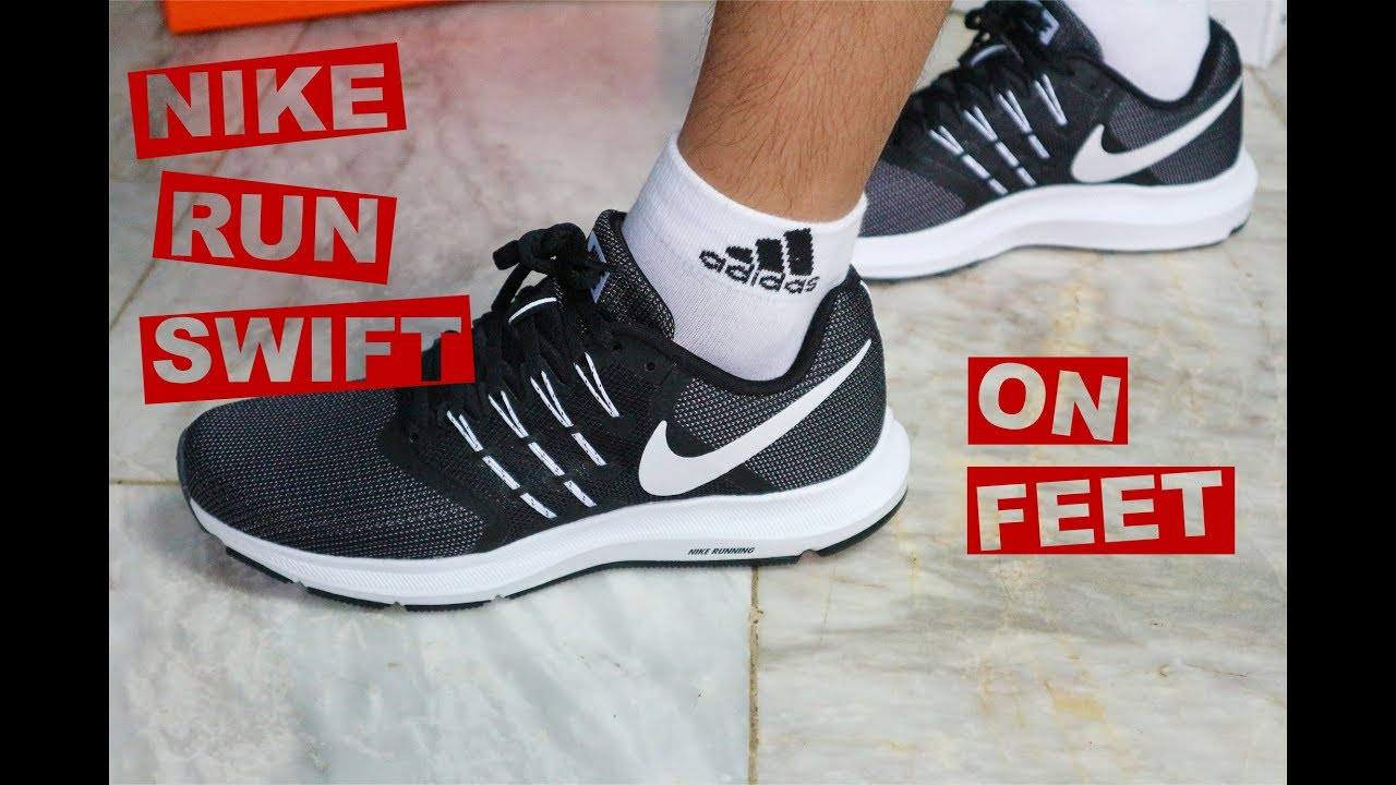 Nike Run Swift On Feet - YouTube c1965ee1ebf77