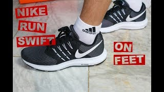 Nike Run Swift On Feet - YouTube