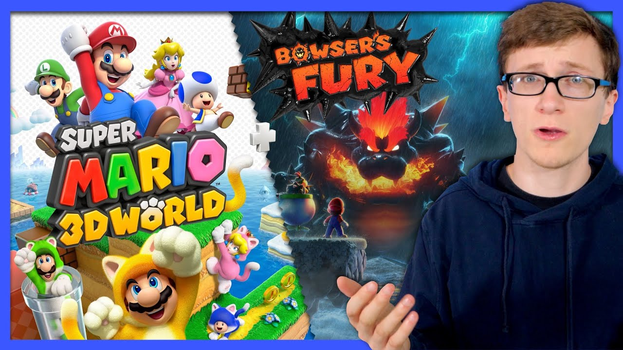 Super Mario 3D World + Bowser's Fury | A Critical Third Look - Scott The Woz