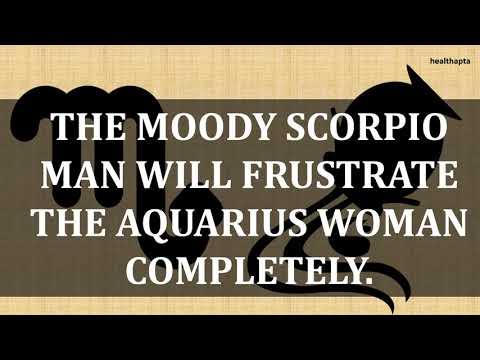 SCORPIO MAN WITH AQUARIUS WOMAN