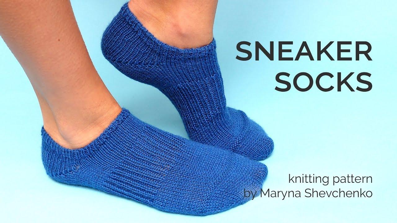 SNEAKER SOCKS - New Knitting Pattern