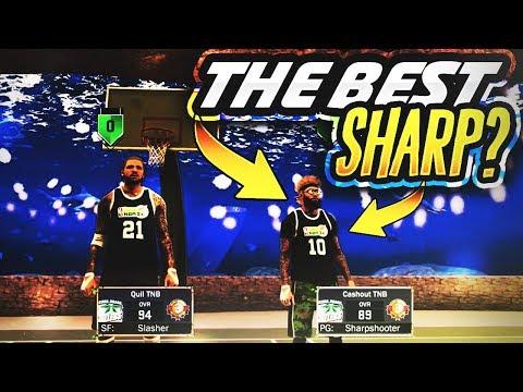 IS HE THE BEST SHARPSHOOTER IN NBA 2K17?