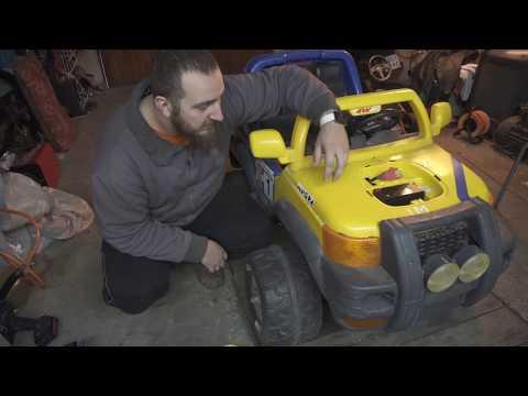 Power Wheel - Czyli Zabawka Dla Taty i Syna ;)