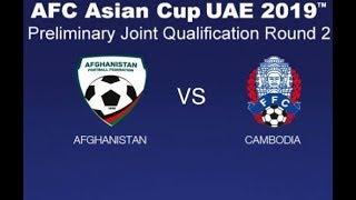 Video Gol Pertandingan Afghanistan vs Kamboja
