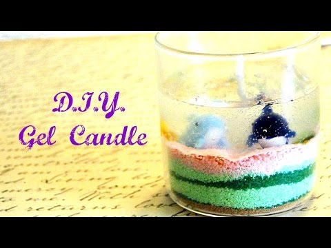 gel candle making instructions