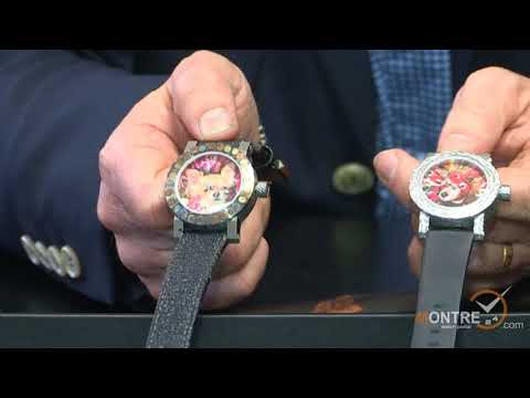Ivan Arpa Shows Artya Watches (part 2) Geneve , January 2012
