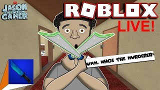 A TEAM TOON MURDER MYSTERY 2 IN ROBLOX ! LIVE!