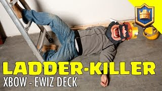LADDER KILLER! XBOW - ELECTRO WIZARD DECK 4,000 - 5,000 Trophies! - Clash Royale