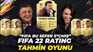 Yılmaz Vural'la Fifa 22 Rating Oyunu Oynadık! Kaç Tanesini Bildi?