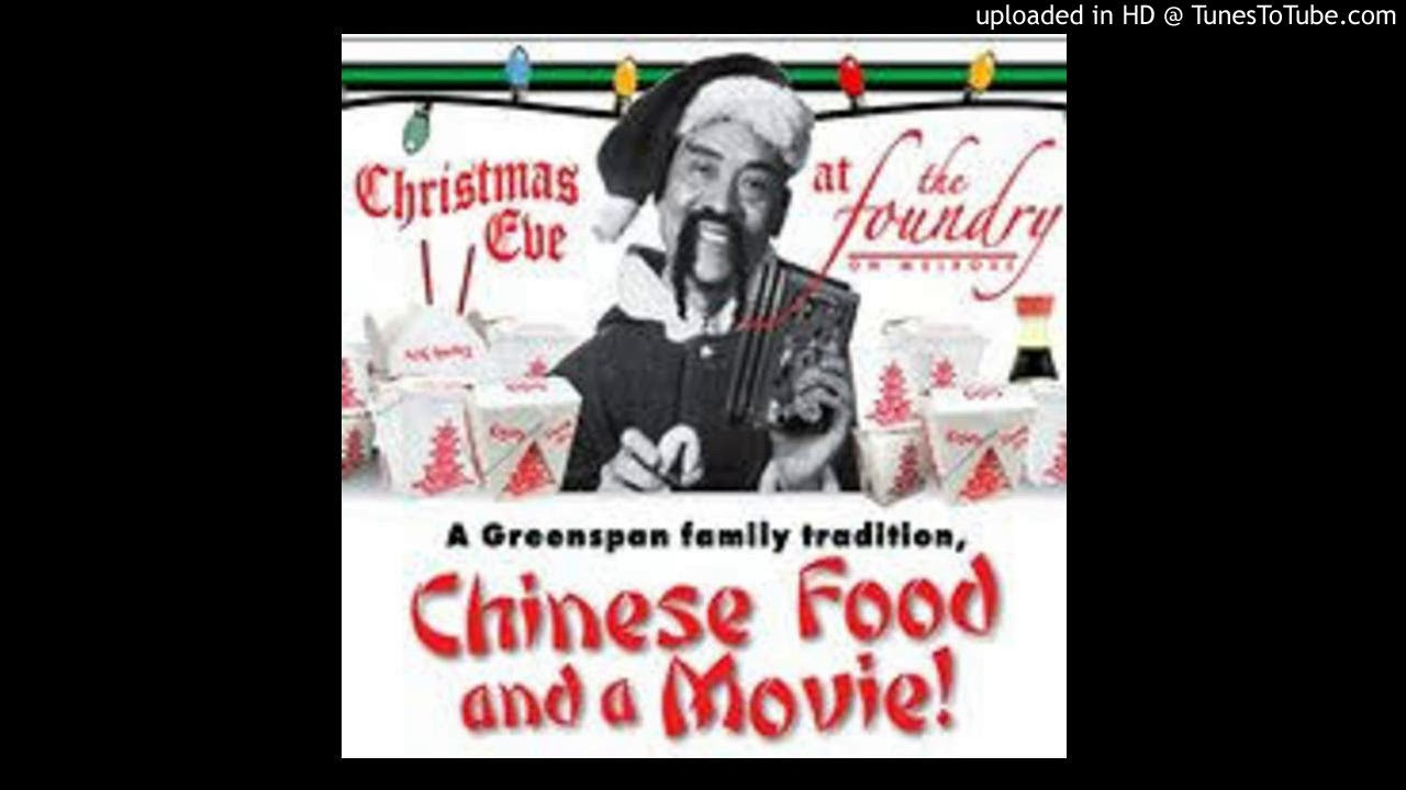chinese food on christmas with jews mariah version