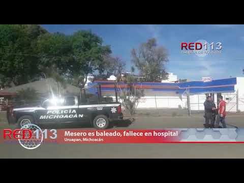 VIDEO Mesero de un conocido restaurante de mariscos es baleado en dicho negocio, fallece en hospital