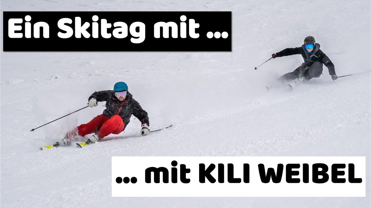 Skifahren mit einem der besten Skifahrer der Welt