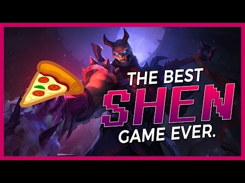 SHEN ELDER DRAKE STEAL | JENSEN DROPS THE PIZZA (SHEN SUPPORT) | BunnyFuFuu