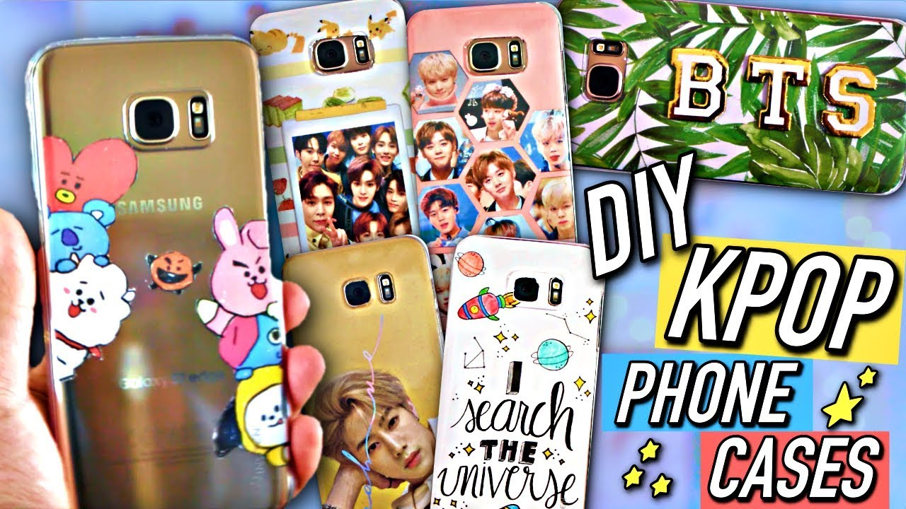 Diy Kpop Book Cover : Diy kpop phone cases bts exo etc kpopamoo
