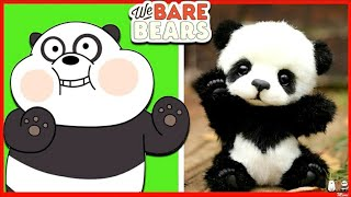 We Bare Bears in Real life 2020 Cartoon Movie Episodes 'Panda, Ice Bear, Grizzly x Charlie'