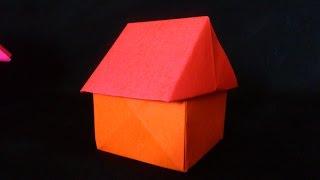 Cara Membuat Origami Rumah 3 Dimensi   Origami Bangunan