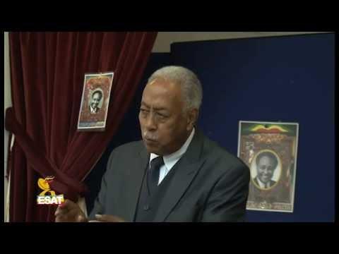 ESAT Memorial Cermoony for Prof  Aserat Woldeyes in London Ethiopia Community Center 4 June 2015