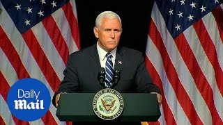 Pence outlines plans for Space Force as 6th military branch - Daily Mail