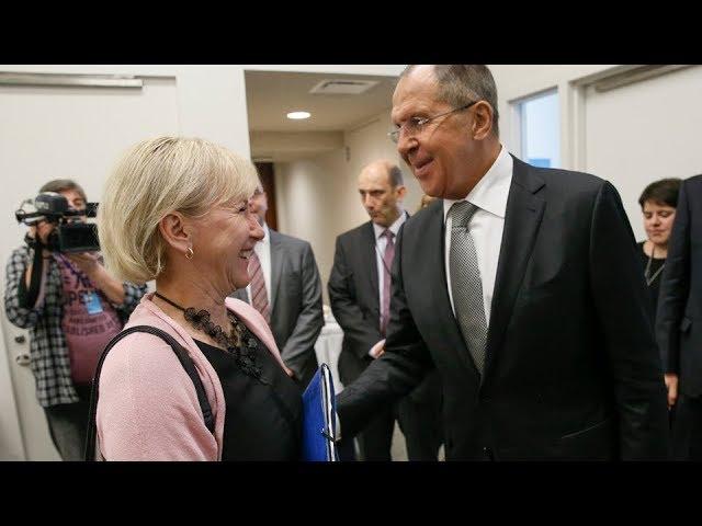 Sergey Lavrov & Margot Wallström | С.Лавров и М.Вальстрем