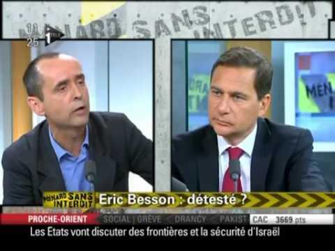 ROBERT MENARD VS ERIC BESSON SUR Saîd Bourarach !!! 2 poids 2 mesures.