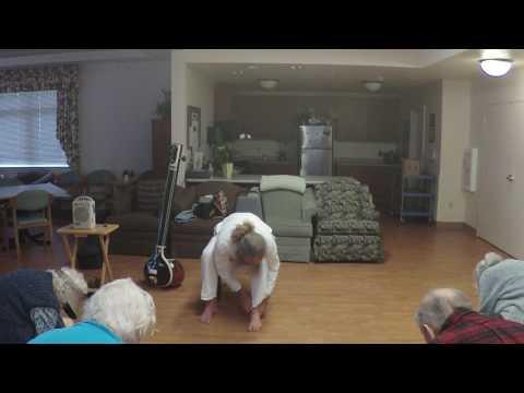 Chair Yoga: Abhyaṅga (B) 6 – Self-Massage Therapy