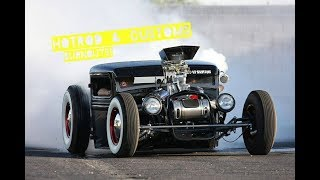 Best of Hot Rod & Custom BURNOUTS at C&C ( PURE SOUND ) Blown Tires!!