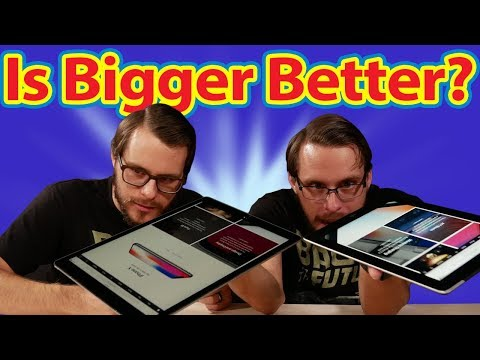 Is Bigger Always Better? The Big iPad Pro 12.9""