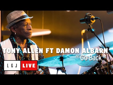 Tony Allen feat. Damon Albarn - Go Back - Live du Grand Journal