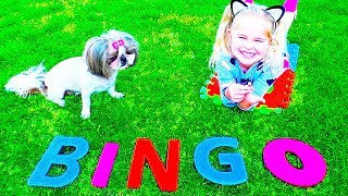 Bingo Song | Emma pretend play Song For Kids BINGO |
