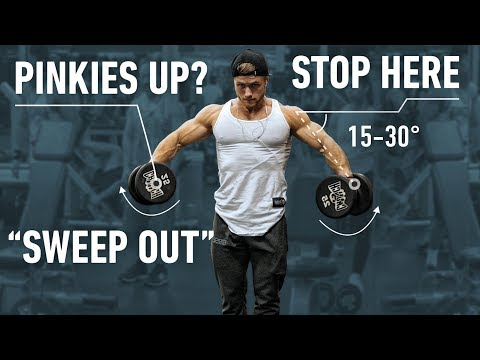 How To Build Capped Shoulders: Optimal Training Explained (Side Delts)