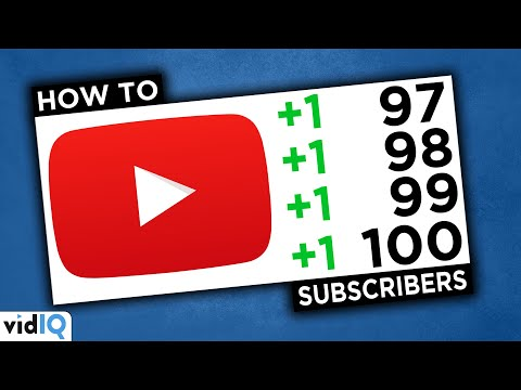 How to Get Your First 100 Subscribers on YouTube in 2021