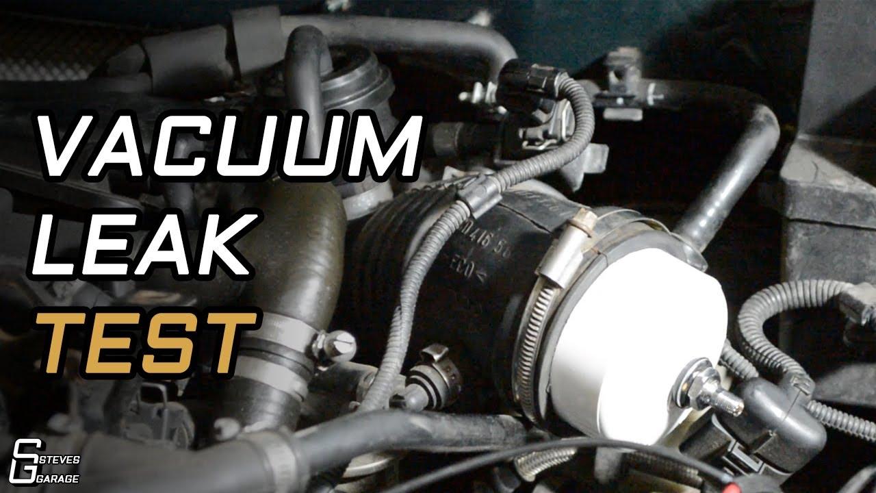 Volkswagen 1 8t Simple Boost Leak Test