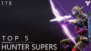 Destiny: Top 5 Hunter Super Plays Of The Week / Episode 178