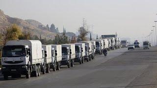 المعارضة السورية تسعى لتأميم طريق الإغاثة إلى حلب