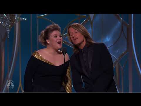 Kelly Clarkson and Keith Urban Golden Globes