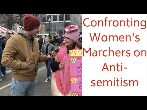 Simon Conway - Some of the women marchers get it, but they still marched! WATCH!