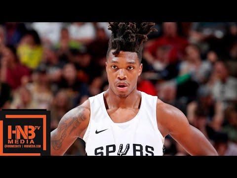 Washington Wizards vs San Antonio Spurs Full Game Highlights / July 8 / 2018 NBA Summer League