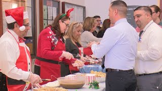 Judges serve holiday meal to Metro Court staff