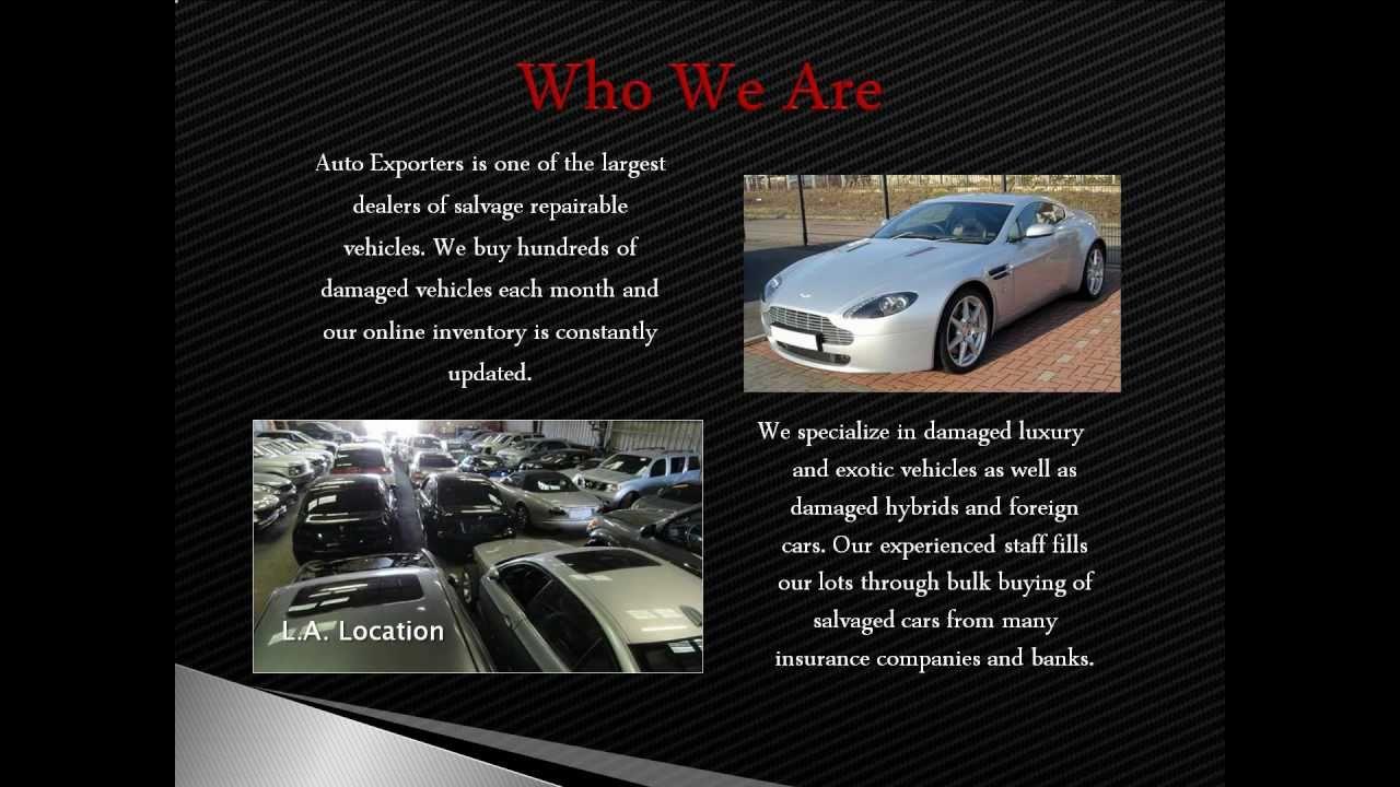 Auto Exporters of Los Angeles - YouTube