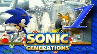 Sonic Generations (Xbox 360) - 1 часть прохождения игры