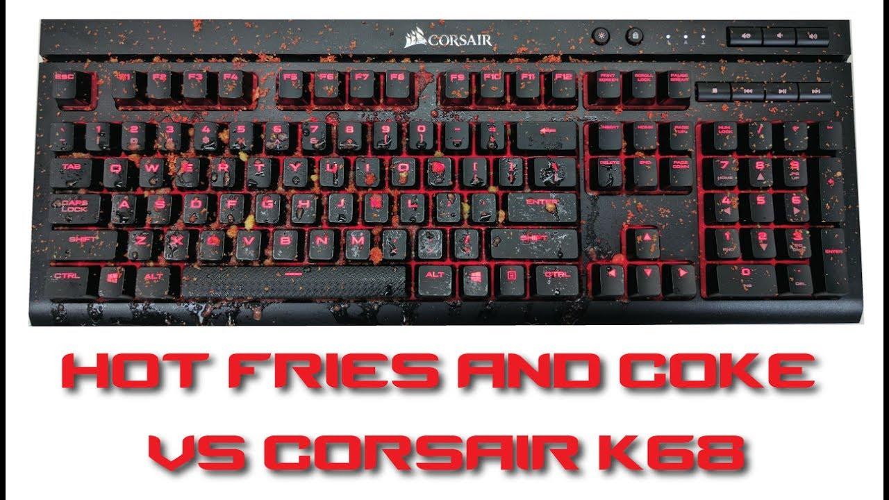 00d45ffbf6c Corsair K68 Mechanical Keyboard Review - YouTube